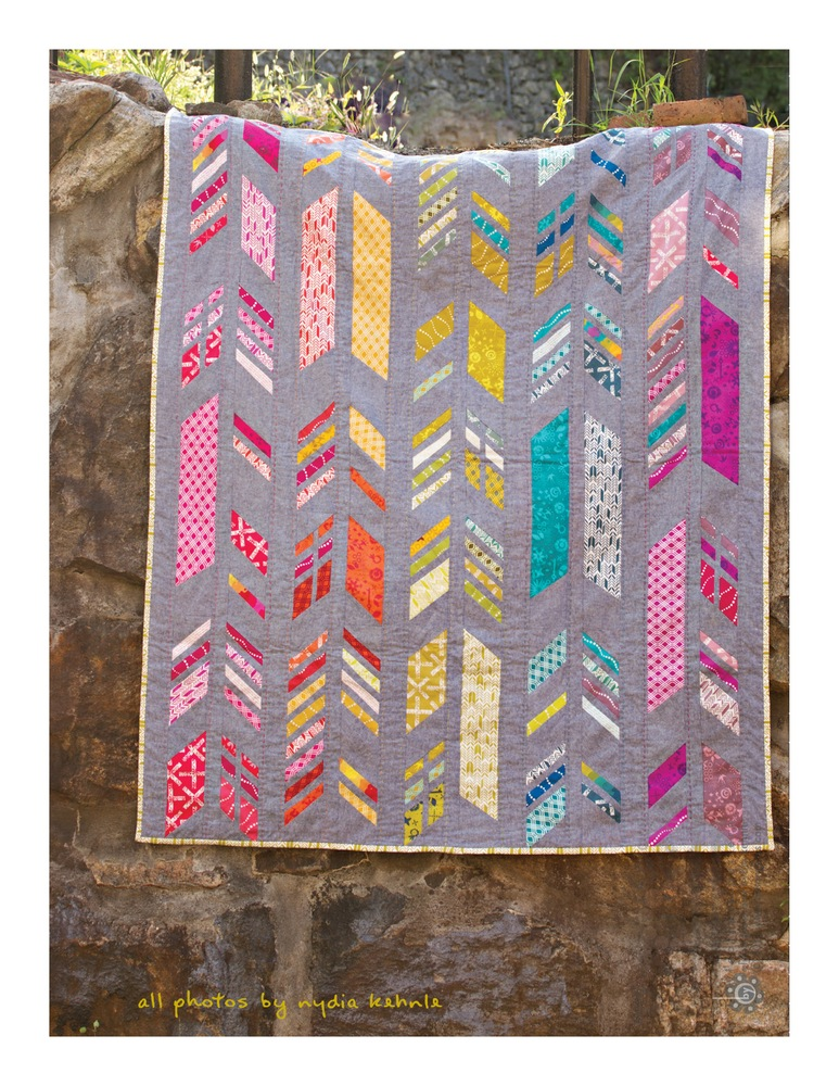 Feathers Quilt Pattern Alison Glass
