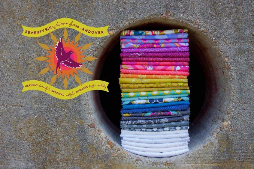 Seventy Six fabric stack