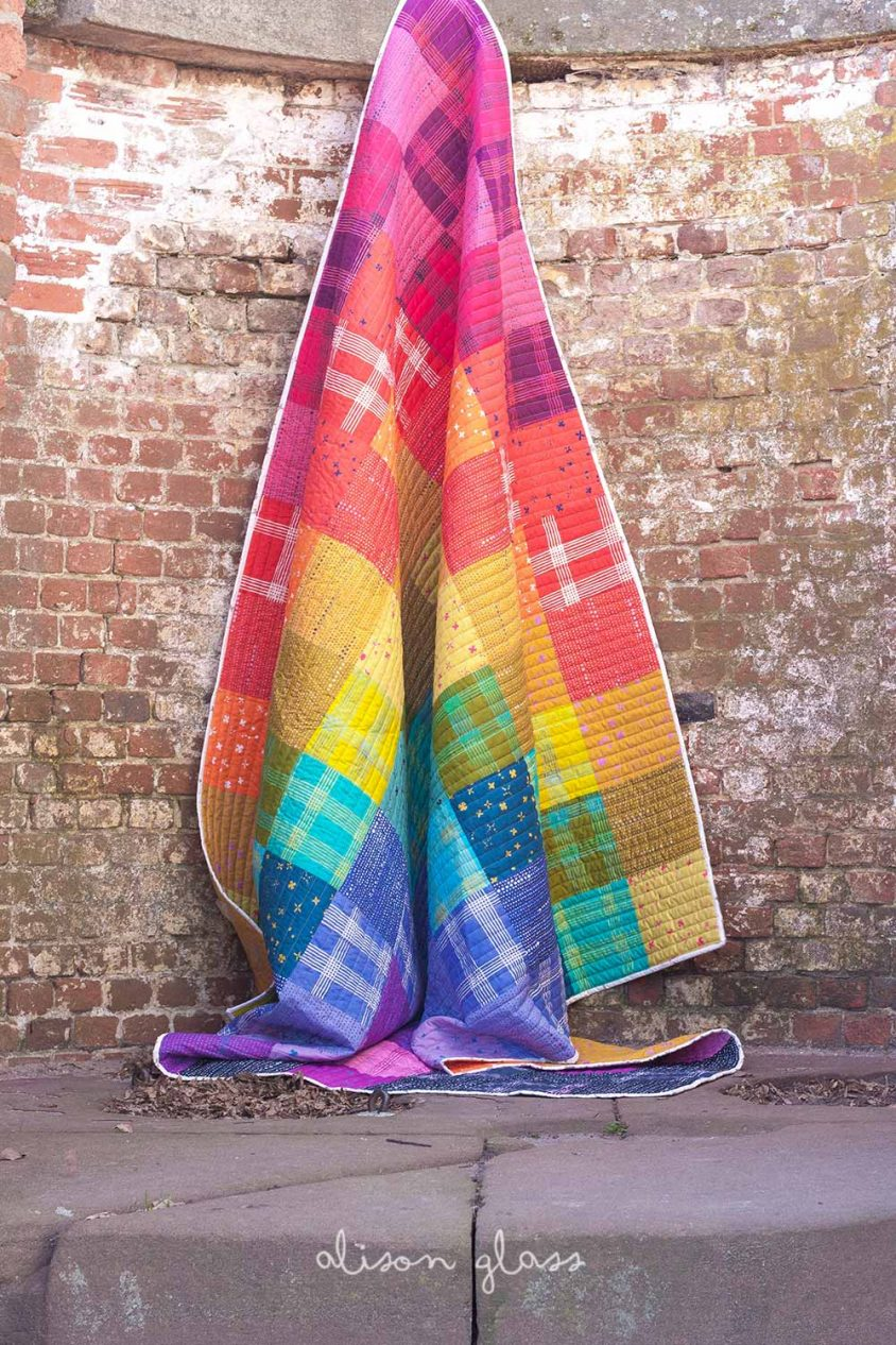 chroma patchwork queen size