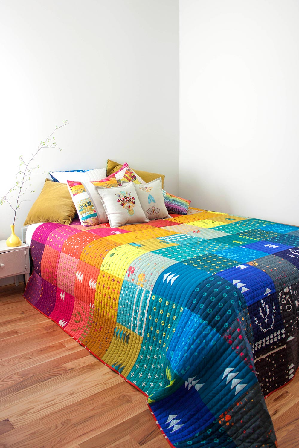 Patchwork Quilt Pattern Alison Glass