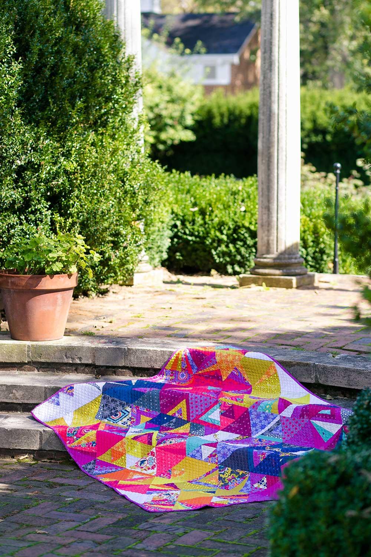 Tessellation Kit in Seventy Six & Insignia | Alison Glass : tessellation quilt - Adamdwight.com