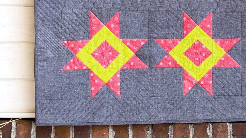 alison glass bernina sun print quilt card basket variation