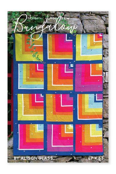 bungalow pattern alison glass pattern company front