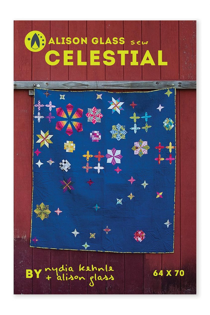 celestial sew series alison glass pattern company