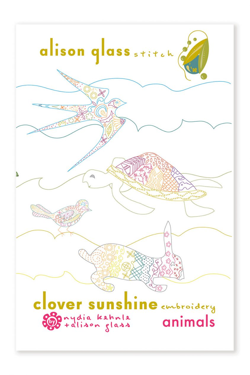 clover sunshine animals alison glass pattern company