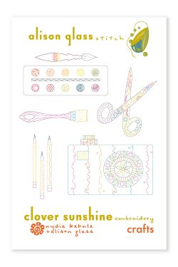 clover sunshine crafts alison glass pattern company