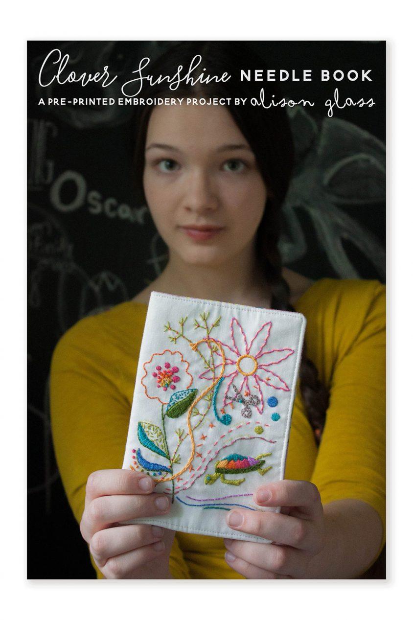 needlebook embroidery alison glass pattern company