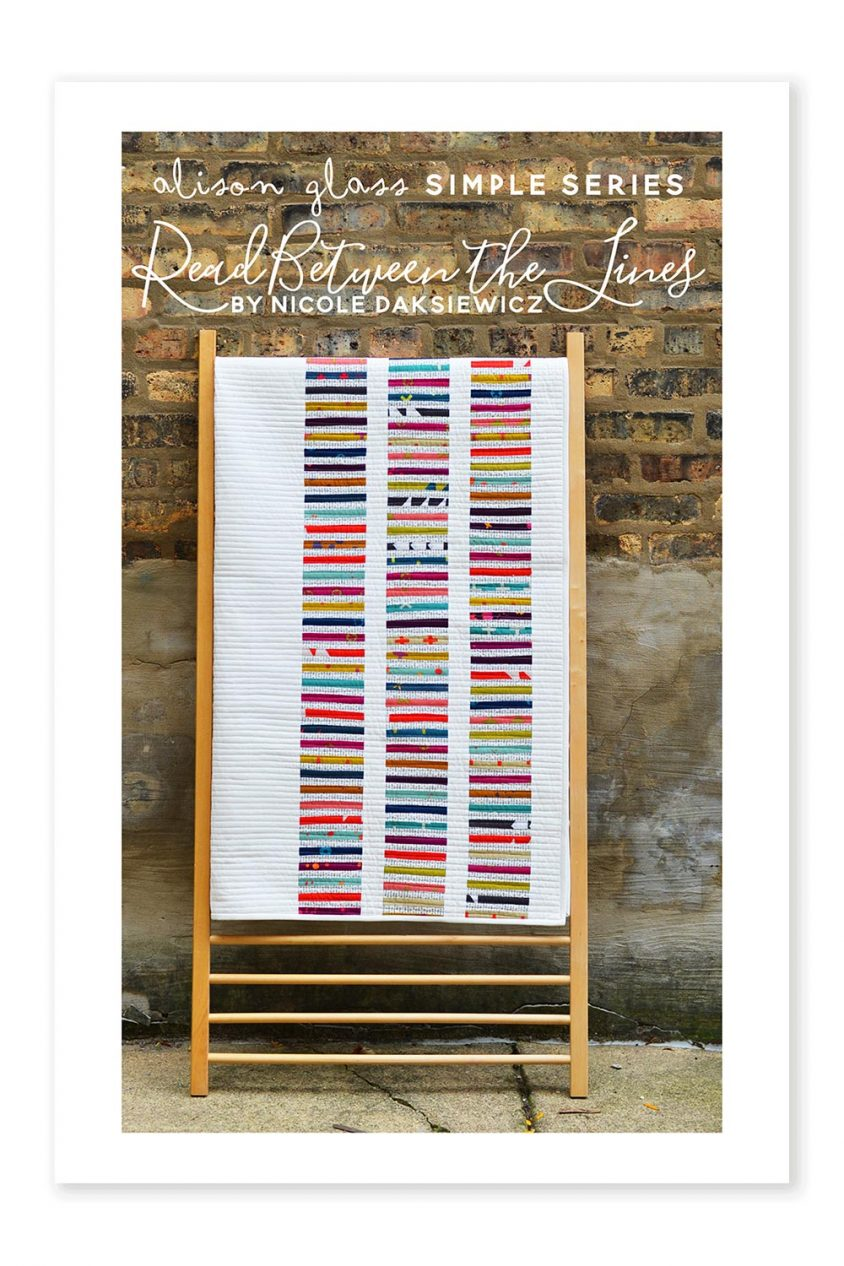 read between the lines simple series alison glass pattern company