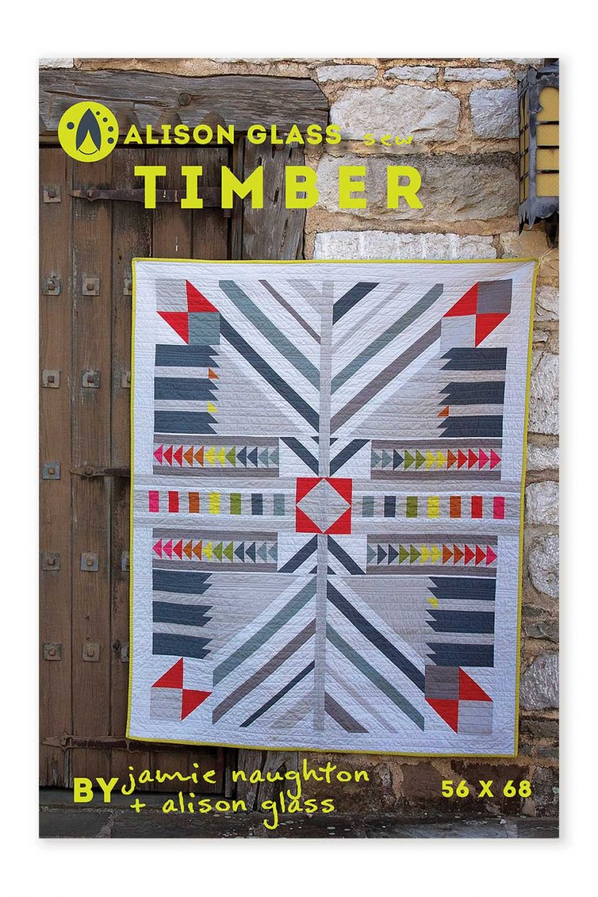 timber sew series alison glass pattern company