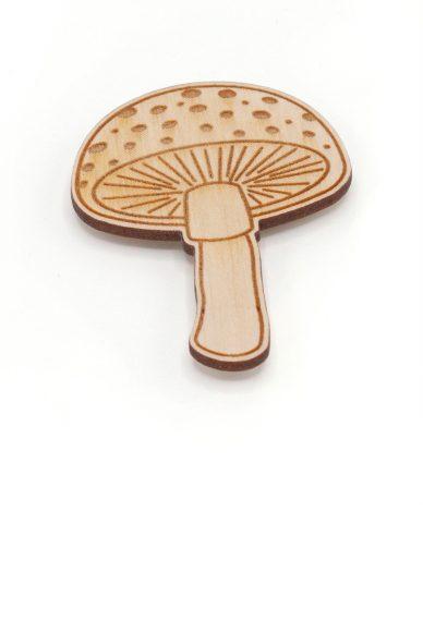 mushroom needle minder