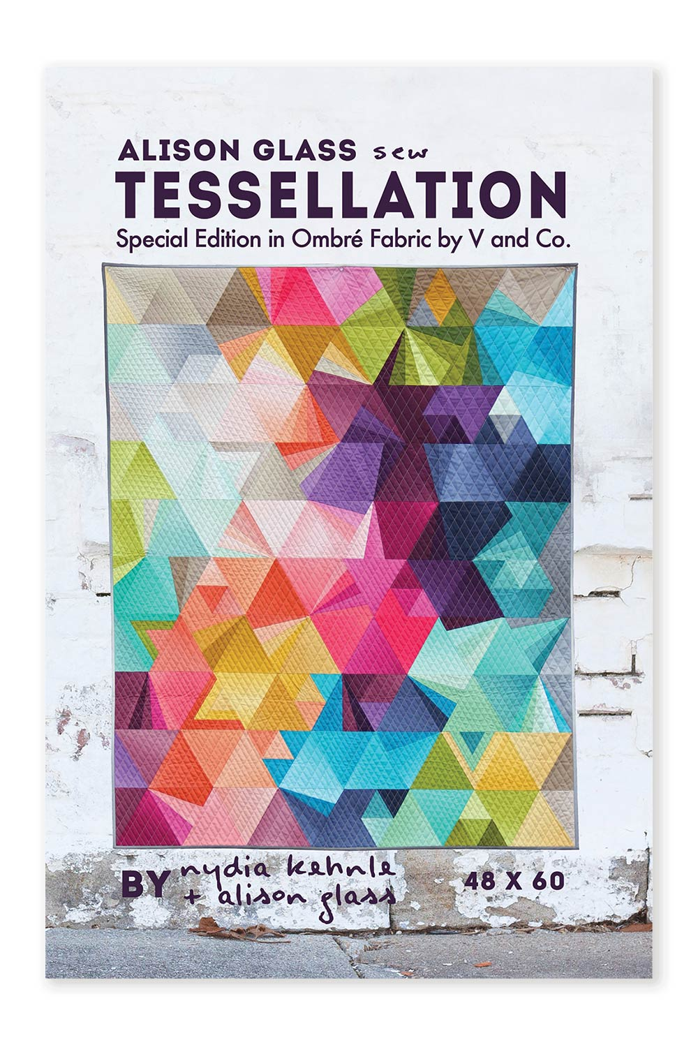 tessellation ombre quilt pattern