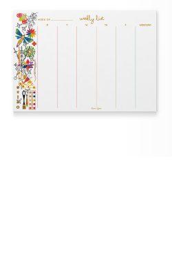 ag calendar notepad