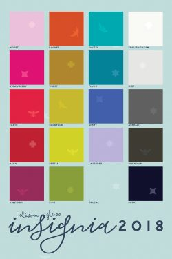 insignia 2018 color chart