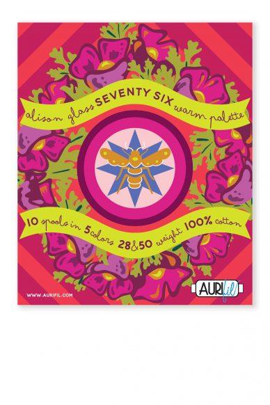 seventy six aurifil warm threads