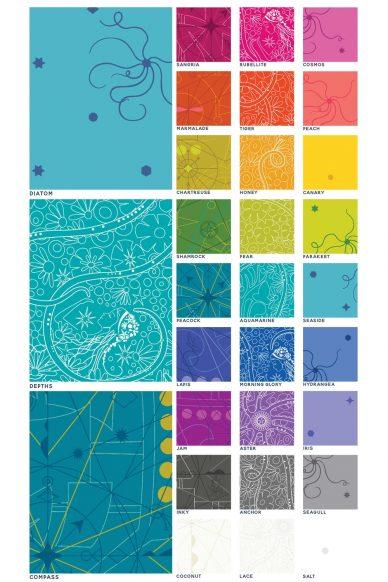 sun print 2018 color chart