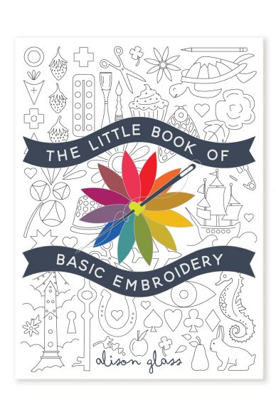 little embroidery book front cover