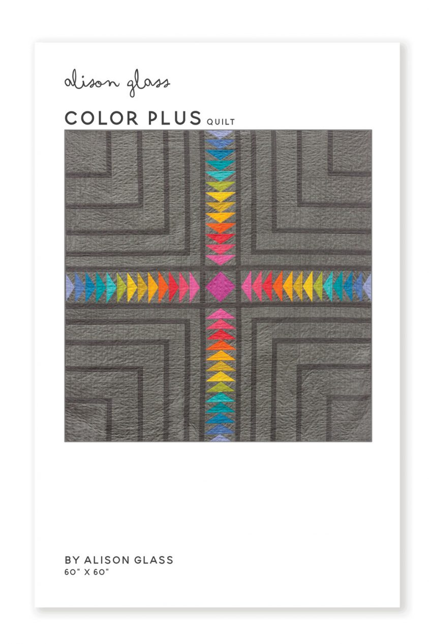 color plus quilt pattern