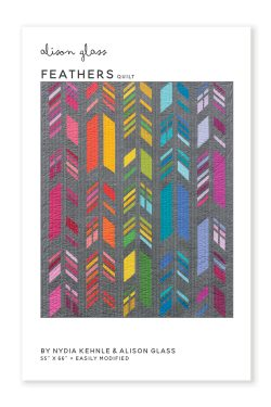 feathers quilt pattern