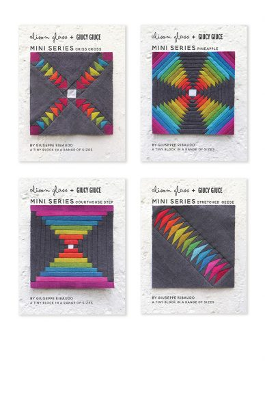 mini series all four quilt patterns