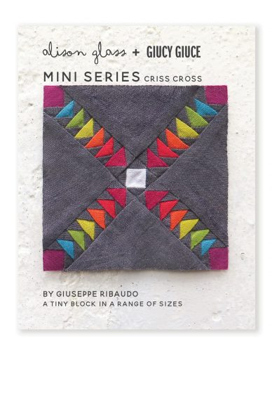mini series criss cross quilt pattern