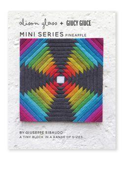 mini series pineapple quilt pattern