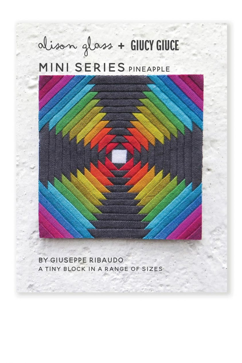 mini series pineapple quilt pattern