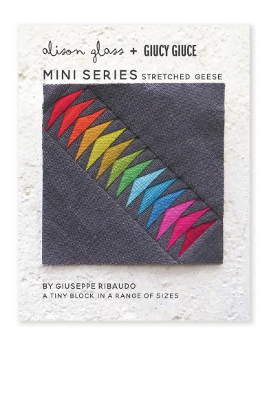 mini series stretched geese quilt pattern