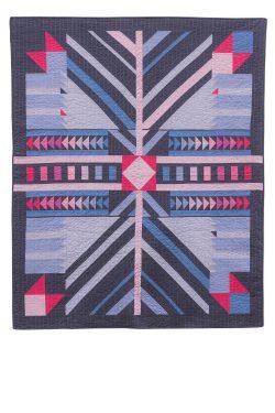 kaleidoscope timber quilt