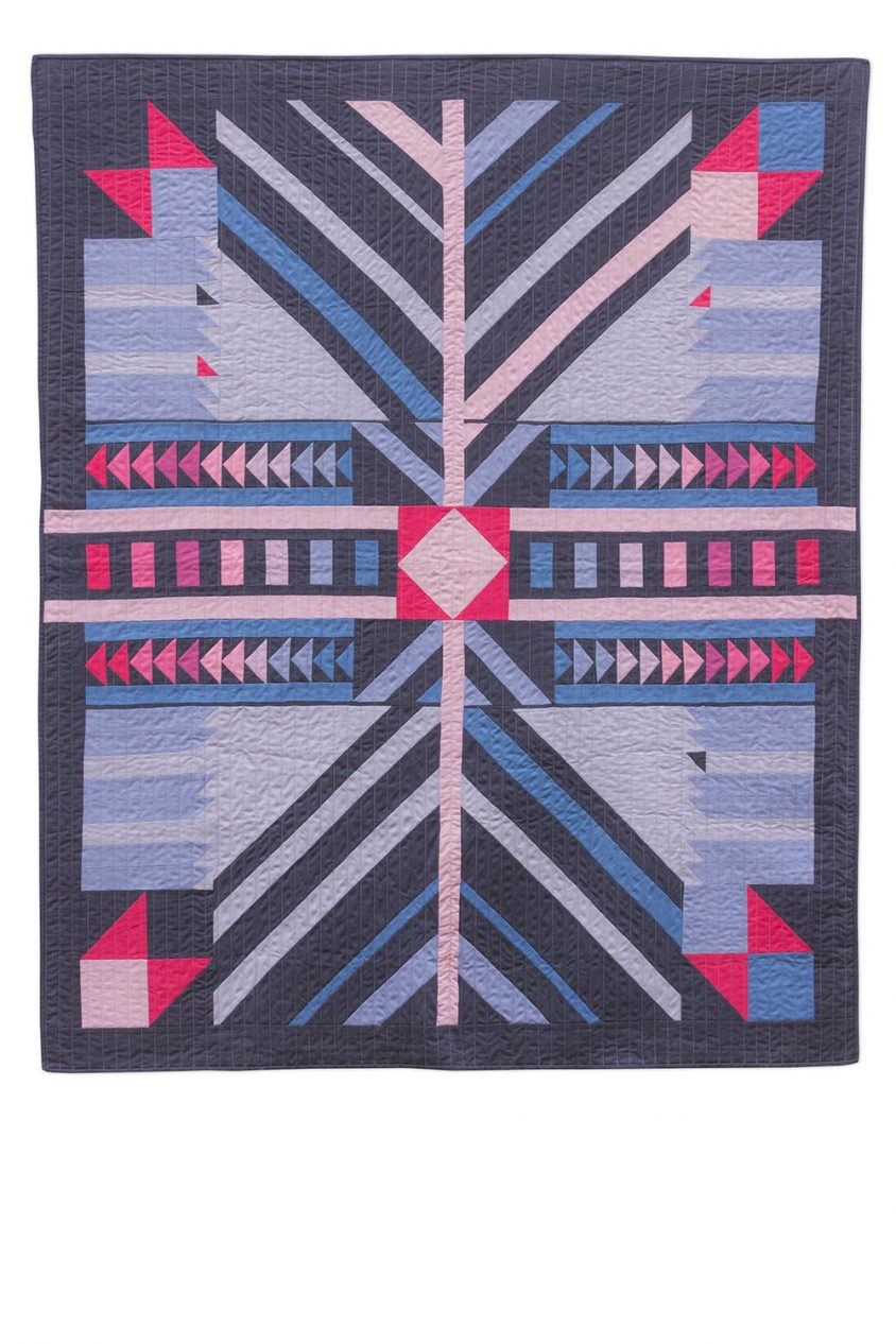 kaleidoscope timber quilt