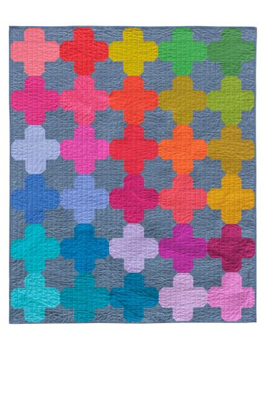 kaleidoscope ventana quilt
