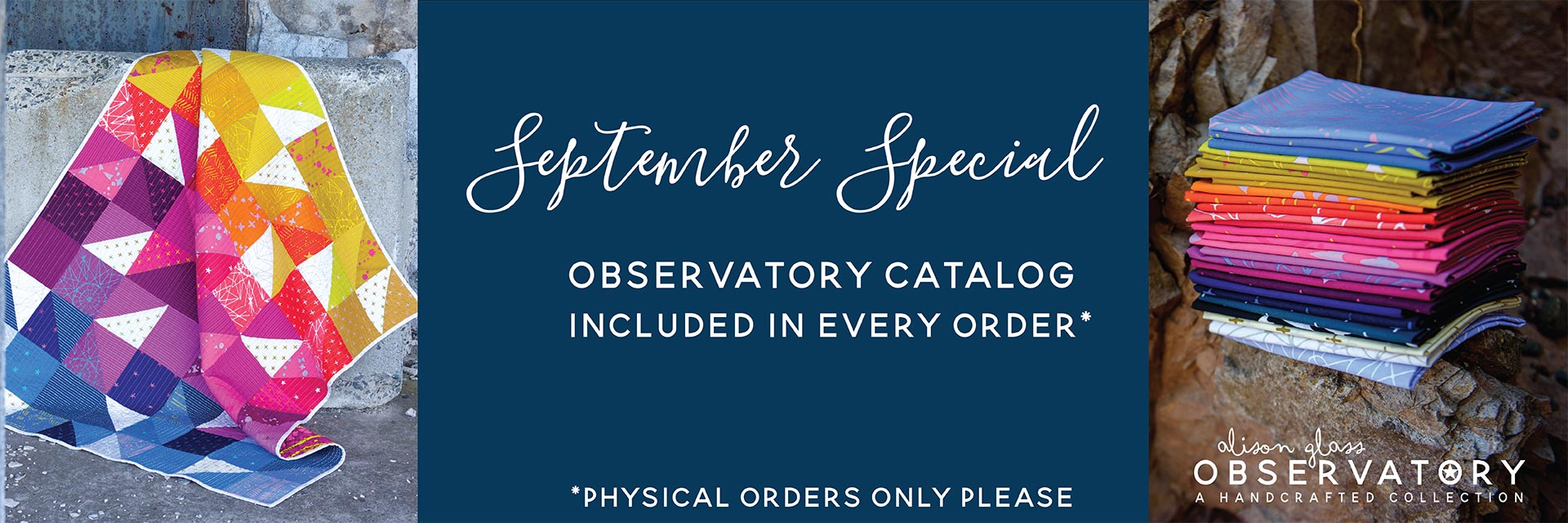 september special - free observatory catalog