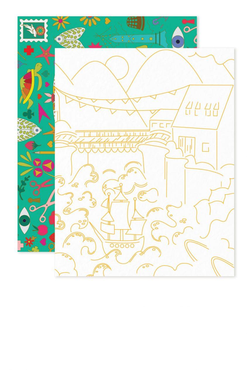 abacus village card
