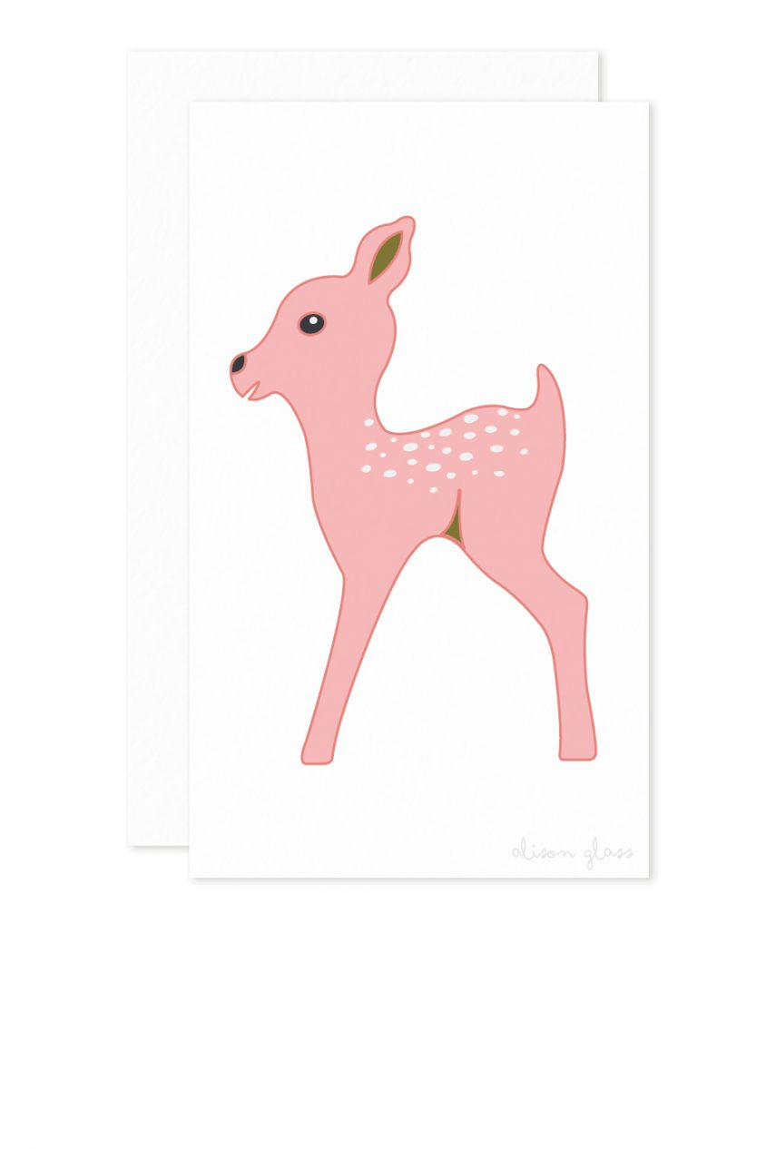 fawn enclosure card