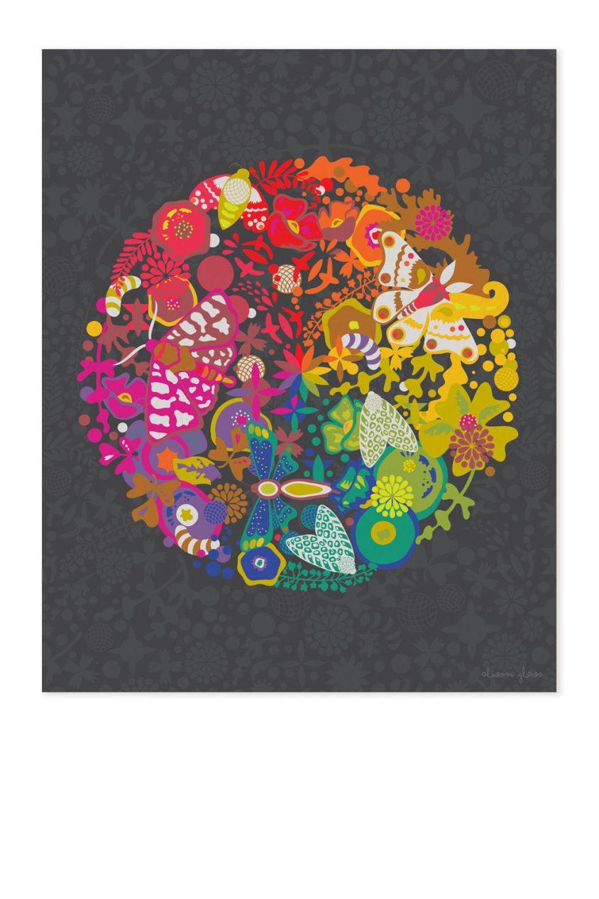 art theory art print