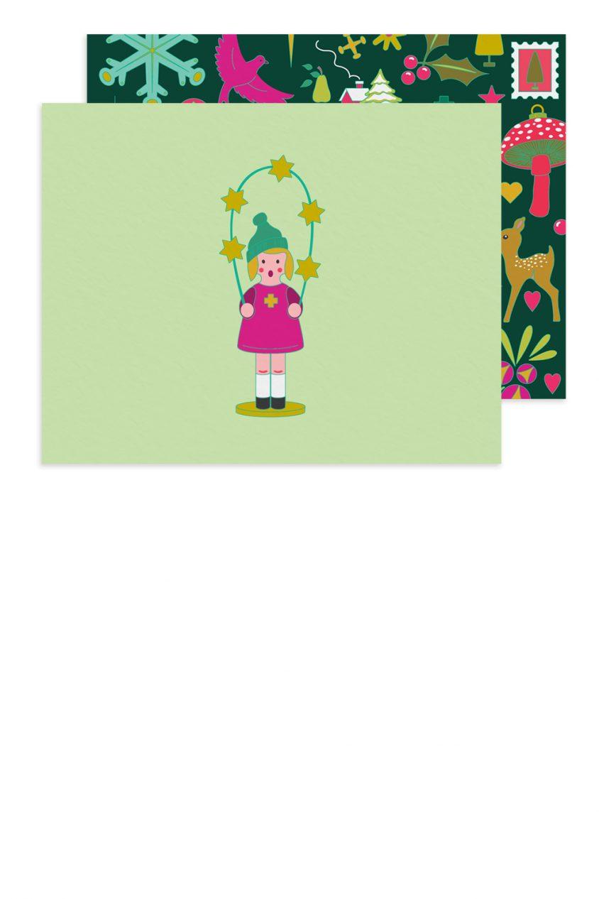chorus girl card