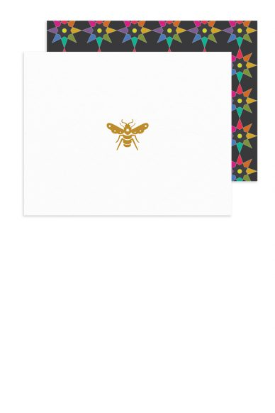 insignia bee card with abacus envelope