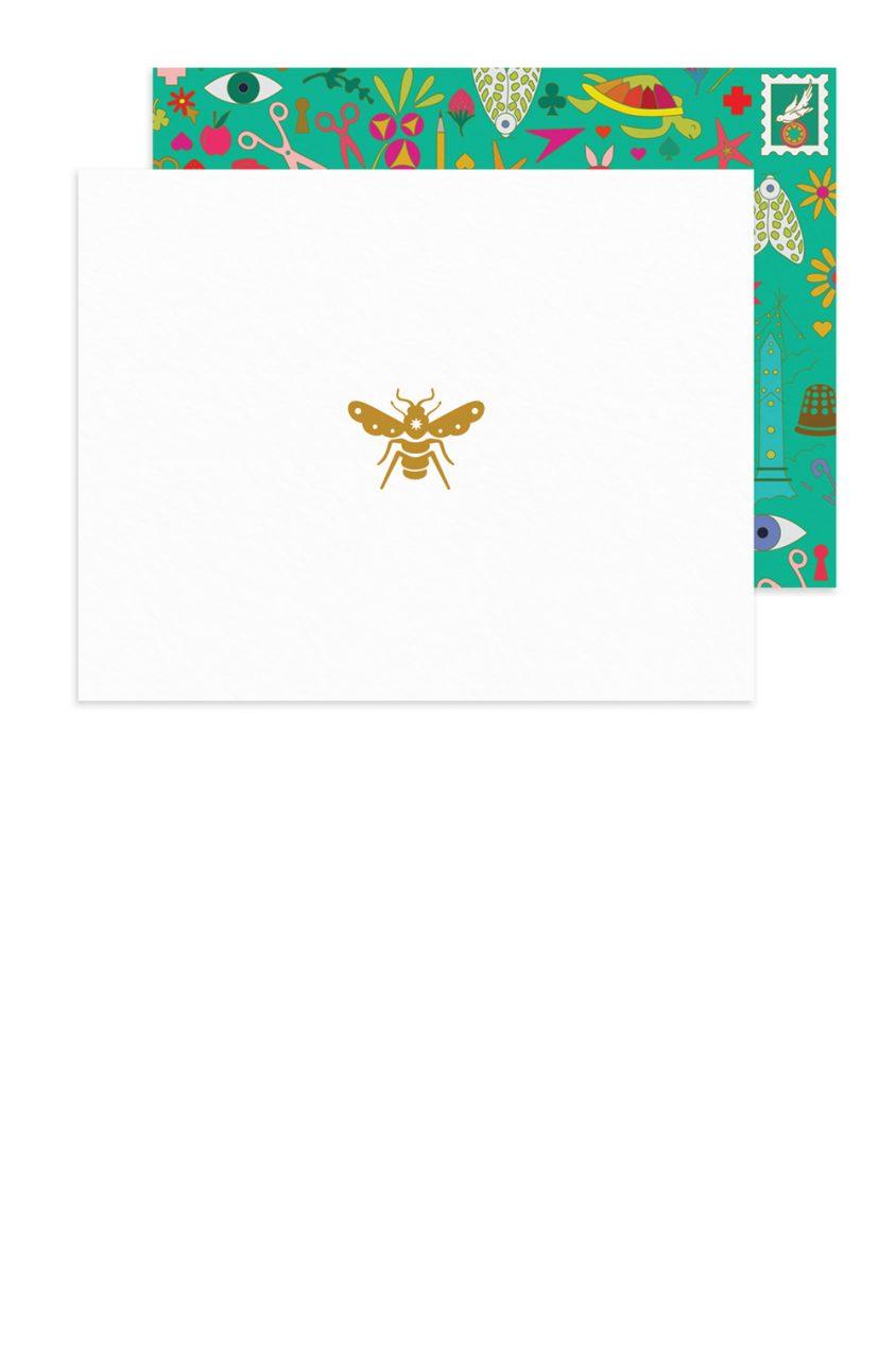 insignia bee card