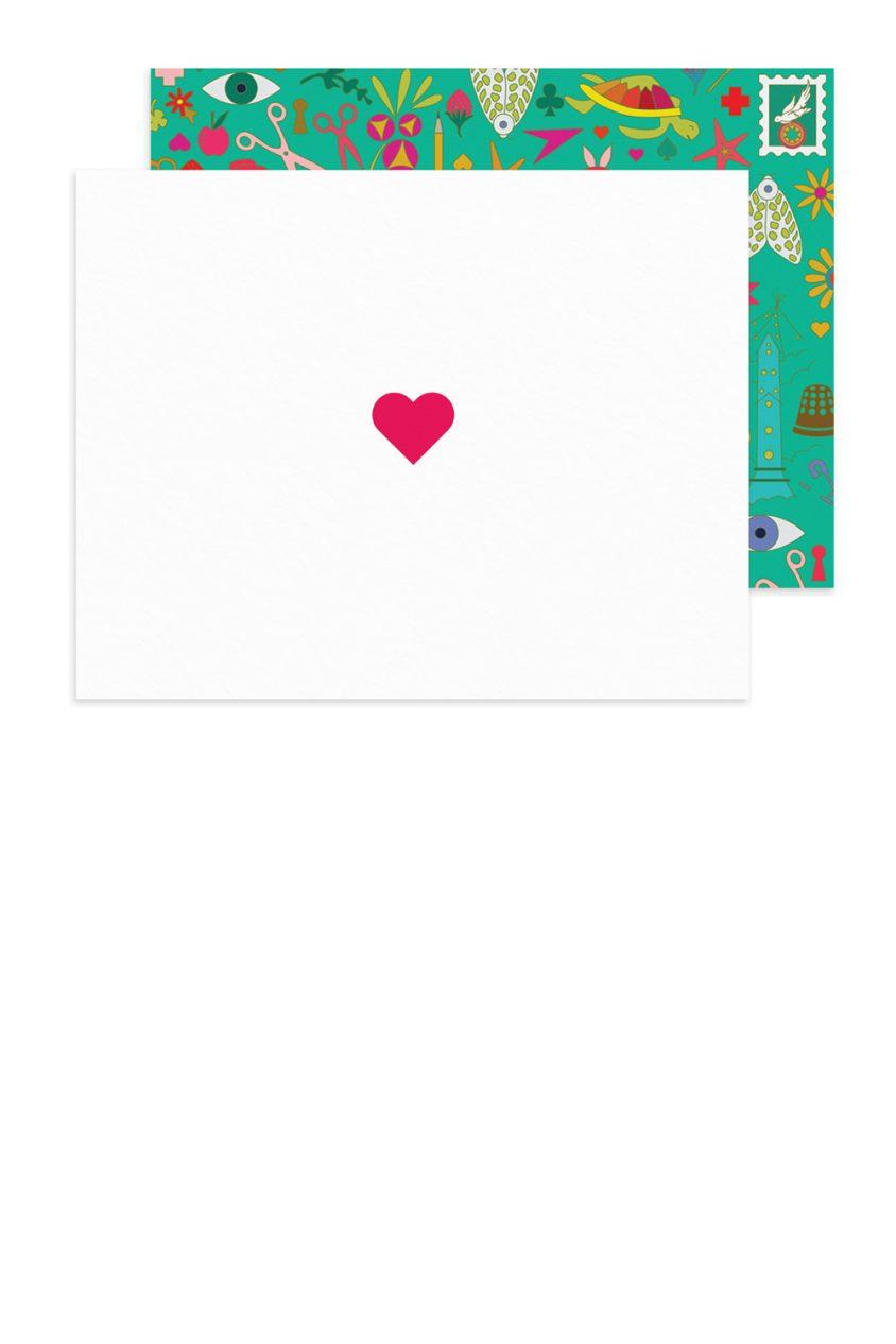 insignia heart card