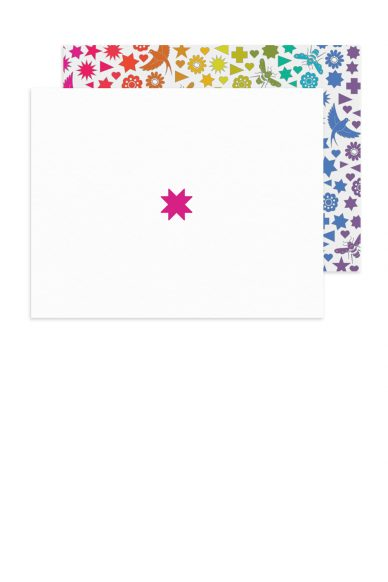 insignia star card with seventy six envelope