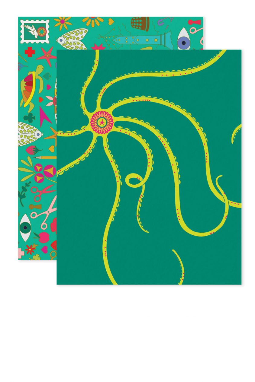 lime octopus card