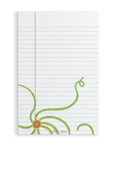 octopus notepad