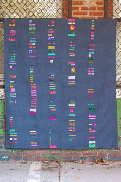 swatch quilt kit in road trip