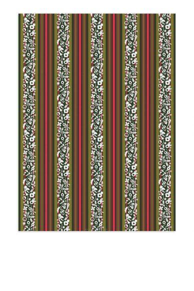 stripe gift wrap