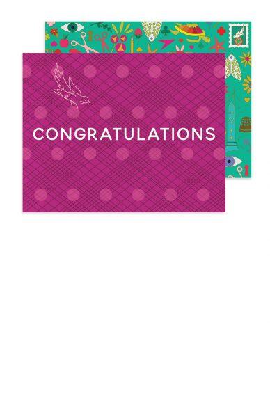 woven congratulations