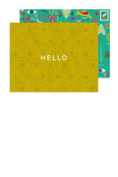 link hello card