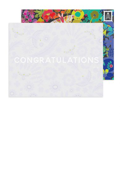 meadow congratulations card