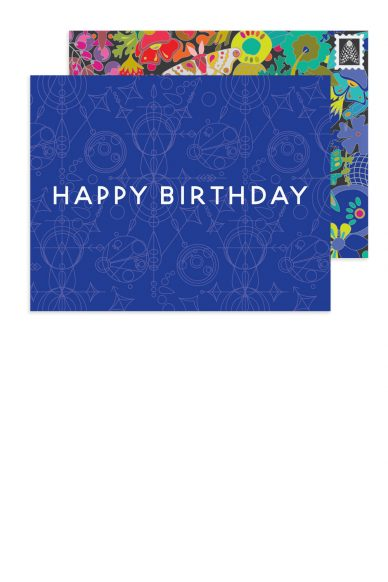 mercury happy birthday card
