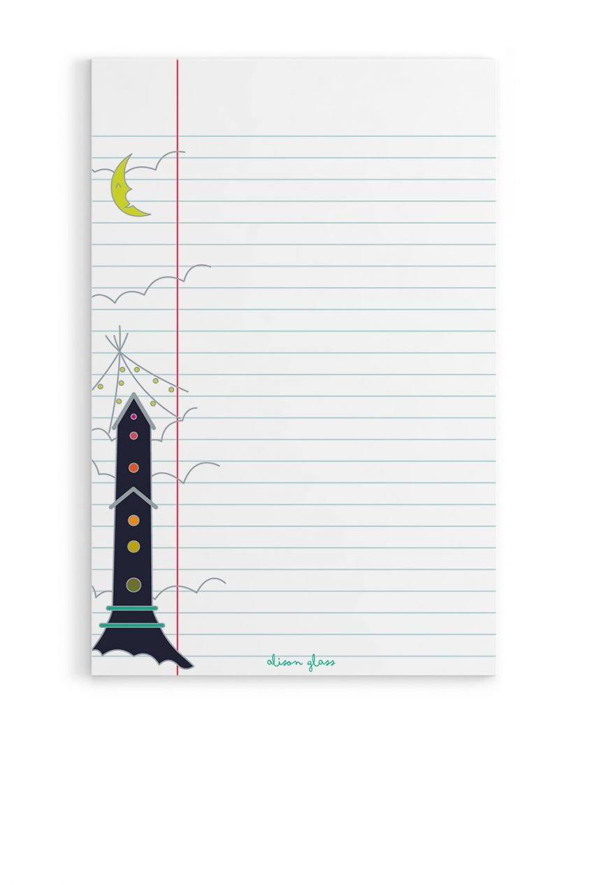 treehouse notepad