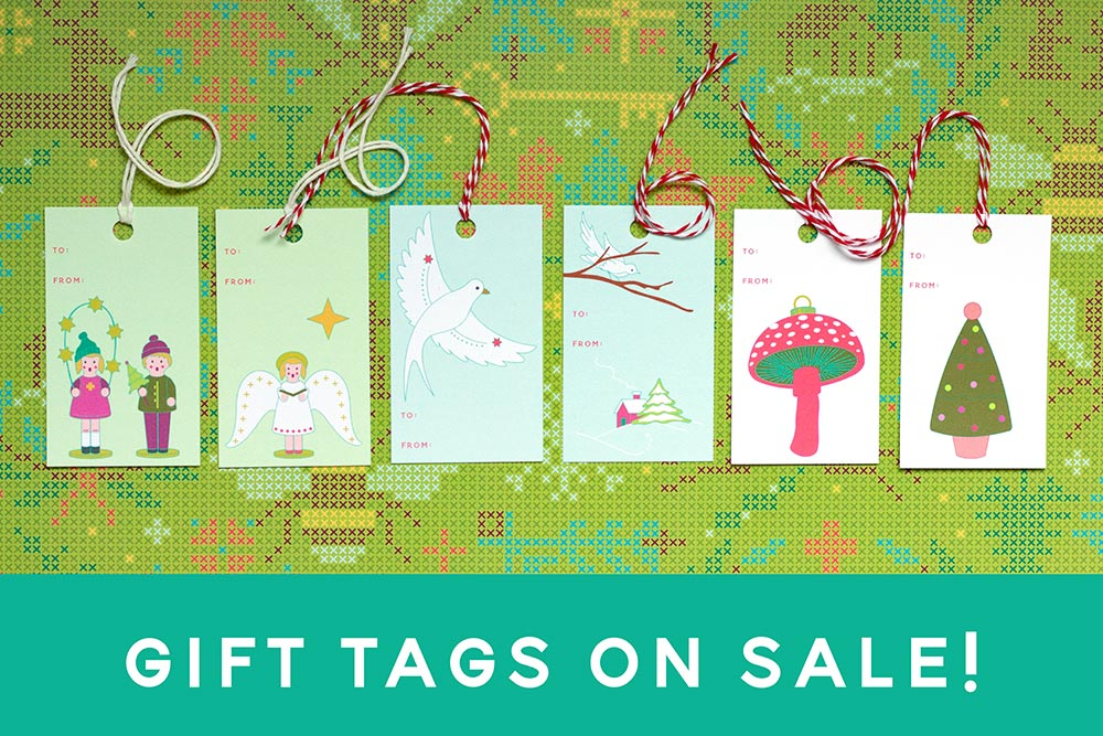 gift tags on sale