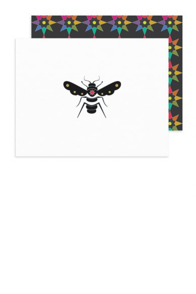 black bee card
